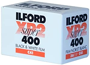 Ilford XP-2 Super 400 135-36 Black & White Film