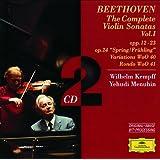 Beethoven: The Complete Violin Sonatas Vol.I (2 CD's)
