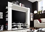 Multimediacenter-MEDI-Medienwand-wei-TV-Wohnwand