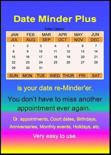 Date Minder Plus front-713412