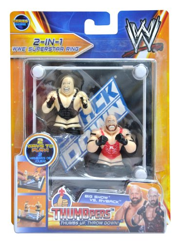 Big Show & Ryback Thumbpers 2 Pack with RingSmackDown