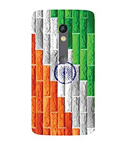 GripIt Independence Day Printed Back Cover Case for Motorola Moto X Play