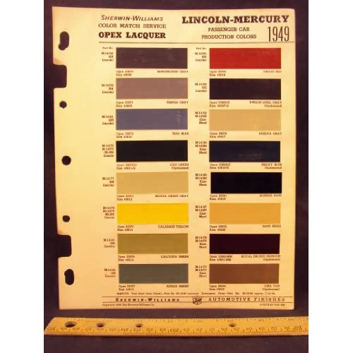Ford motor company ford on autos weblog for Ford motor paint colors