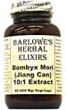 Bombyx Mori Extract 10:1 - 60 600mg VegiCaps - Stearate Free, Bottled in Glass