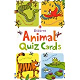 Quiz Cards: Animal Quiz (Usborne Quiz Cards)by Simon Tudhope