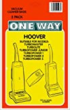 3 x HOOVER, Turbomaster, Turbolite, Turbopower junior, Turbopower 1, 2, 3 + more Vacuum Bags