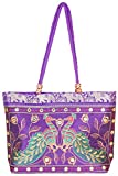 Craftshraft Women's Shoulder Bag (craft-80, Purple)