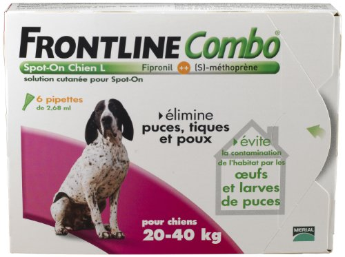 merial-frontline-combo-grand-chien-20-40kg-6pip-anti-puce-anti-tique