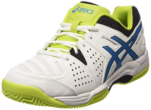 ASICS Gel-padel Pro 3 Sg - Scarpe da Tennis Uomo, Bianco (white/methyl Blue/lime 0142), 46 EU