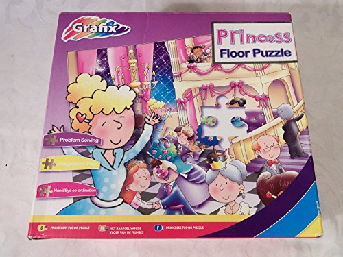 Giant 45-Piece Floor Puzzle Princess from Grafix - 1