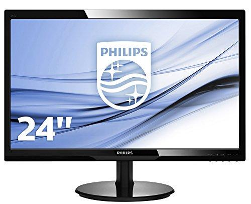 Philips 246V5LSB 24 - Monitor LCD con SmartControl Lite