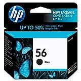 HP 56 Deskjet Ink Cartridge, 520 Pa
