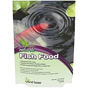 Totalpond a20030 16 ounce pond fish food for Amazon fish ponds