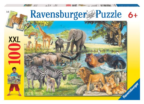 Ravensburger African Afternoon - 100 Piece Puzzle