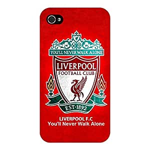 Jugaaduu Liverpool Back Cover Case For Apple iPhone 4