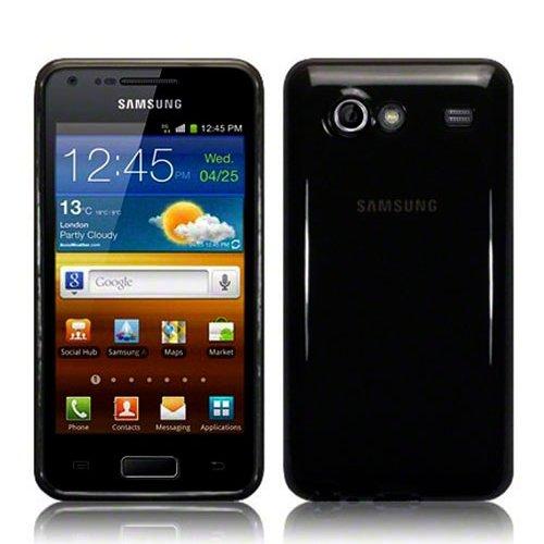 NeoDevice® Custodia Cover in Gel Tpu morbido Lucido per Samsung Galaxy S Advance i9070 Nera