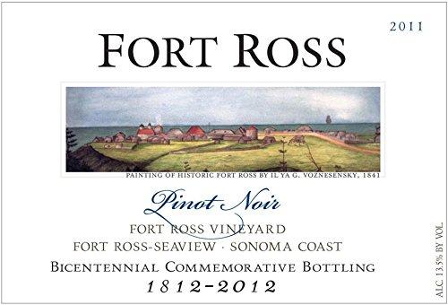 2011 Fort Ross Pinot Noir Bicentennial Bottling, Fort Ross-Seaview, Sonoma Coast 750 Ml