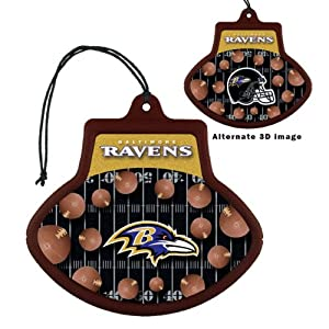 Baltimore Ravens 3D Car Truck SUV Automotive Air Freshener from NFL