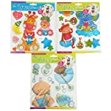 Babies Room Decor 3D Multilayer Stickers Single