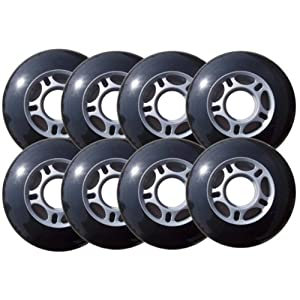 FULL CRESCENT ROCKER Rollerblade Inline Skate Wheel Set