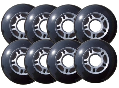 Why Should You Buy Outdoor ROLLER HOCKEY WHEELS HiLo SET 4-76mm 4-80mm 82a