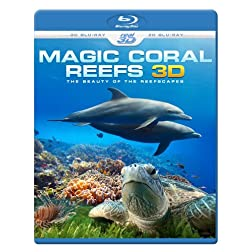 MAGIC CORAL REEFS 3D - The Beauty Of The Reefscapes (Blu-ray 3D & 2D Version) REGION FREE