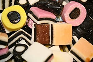 English Licorice Allsorts, 2 Lbs