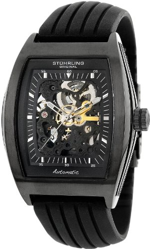 Stuhrling Original Men's 182.33561 Special Reserve 'Millennia' Skeleton Automatic Watch