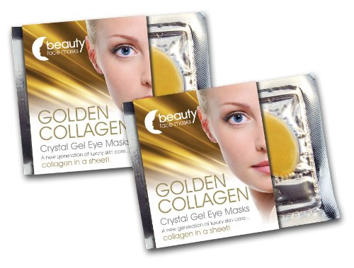 Golden Collagen Crystal Gel Eye Mask 7 Pack
