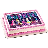 My Little Pony Equestria Girls Edible Birthday Cake OR Cupcake Topper - 7.5 x 10' rectangular inches (Tamaño: 7.5 x 10' rectangular inches)