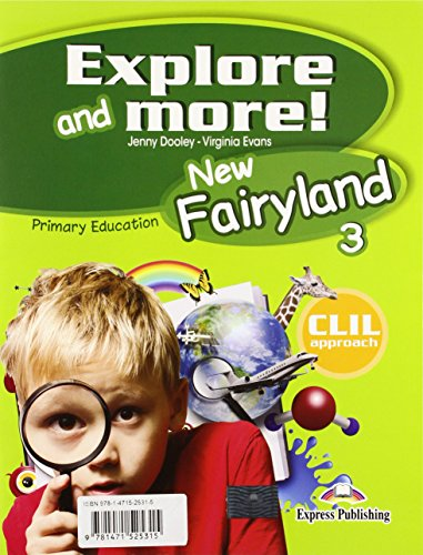 New Fairyland 3 Primary Education Pupil's Pack (Spain)
