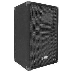 "Seismic Audio - FL-12P - Pro Audio PA/DJ 12"" Speaker - 100% Birch Plywood - 300 Watts RMS each from Seismic Audio Speakers, Inc."