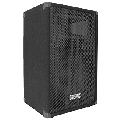 "Seismic Audio - FL-12P - Pro Audio PA/DJ 12"" Speaker - 100% Birch Plywood - 300 Watts RMS each from Seismic Audio Speakers, Inc."