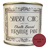 Nautical Red Chalk Based Furniture Paint great for creating a shabby chic style. 125ml