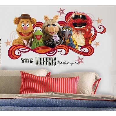 (18x40) Muppets - Collage Peel & Stick Giant Wall Decal
