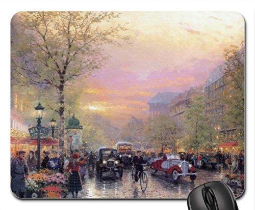 thomas-kinkade-paris-city-of-lights-le-boulevard-des-lumieres-at-dusk-mouse-pad-mousepad-by-rock-bul