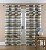 Chenille Striped Curtain