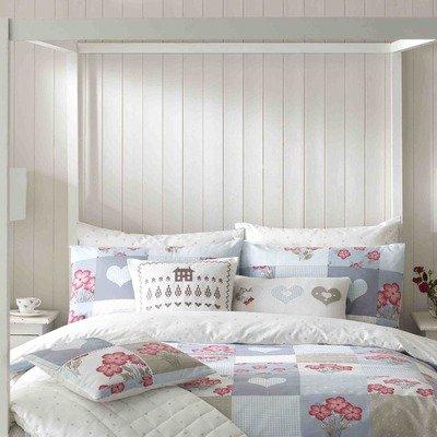 Hattie Cornflower Quilt Cover Size: Double