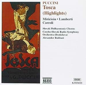 Puccini Tosca (Highlights) Slova