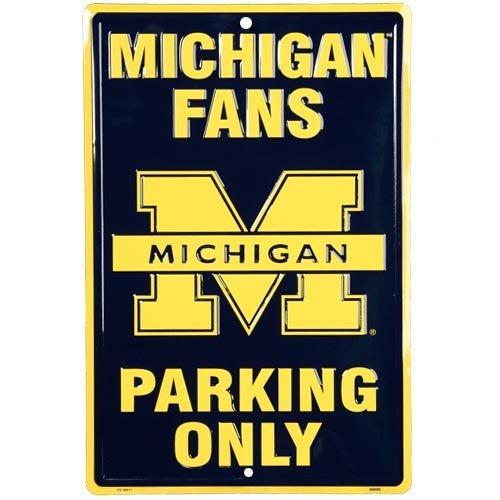 University Michigan Wolverines Fans Parking