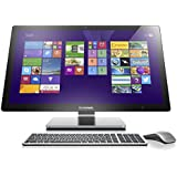 Lenovo A740 27-inch Touchscreen All-in-One Desktop (Silver) - (Intel Core i7-4558U 2.80 GHz, 8 GB RAM, NVIDIA GeForce GTX850A 2 GB, TV Tuner, Bluetooth, Wi-Fi , Windows 8.1)