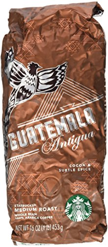 Starbucks Guatemala Antigua, Whole Bean Coffee (1lb) (Whole Bean Guatemala Coffee compare prices)