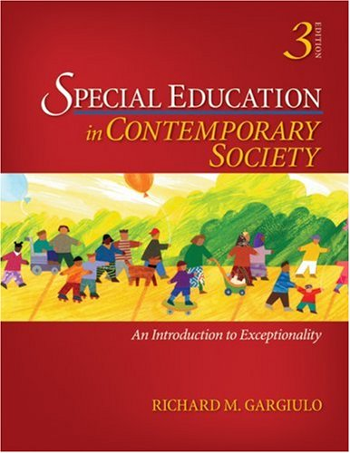 Special Education in Contemporary Society: An...