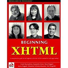 Beginning XHTML (Programmer to Programmer)