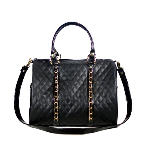 Mia Bossi Quilted Tabitha Diaper Bag