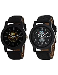 ATC Analog Round Casual Wear Watches For Men Combo- B-114_B-113