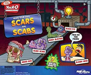 POOF-Slinky - Ideal Yuck-O Scars and Scabs, 30013 by Ideal (English Manual)