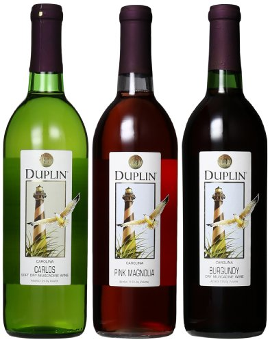 Duplin Winery Dry Mixed Pack, 3 X 750 Ml