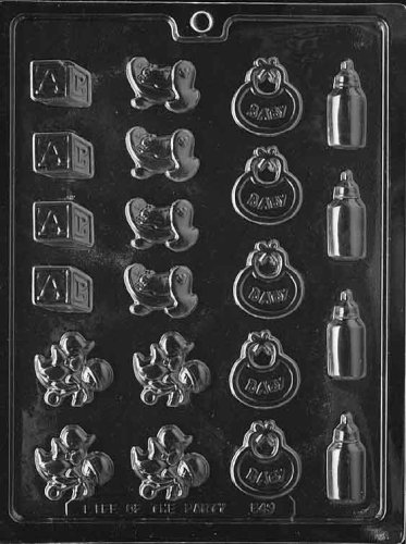 BABY DECO'S Baby Candy Mold Chocolate