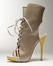 Berwin Woven Lace Up Bootie